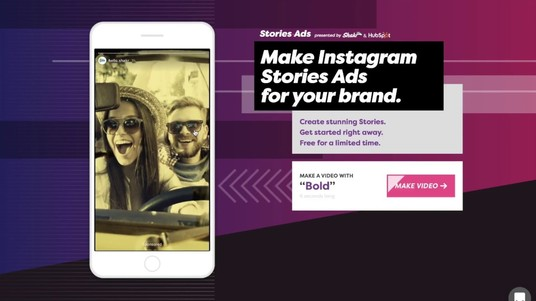 I will create video ads for instagram story