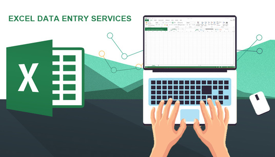 I will Do excel data entry