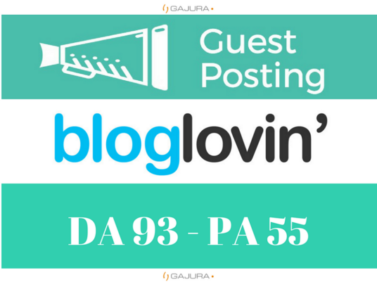 I will write and Publish Guest Post on Bloglovin.com with dofollow backlink DA93
