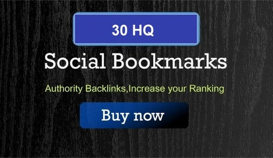 I will Create 30 High Authority Social Bookmarking up to PR9