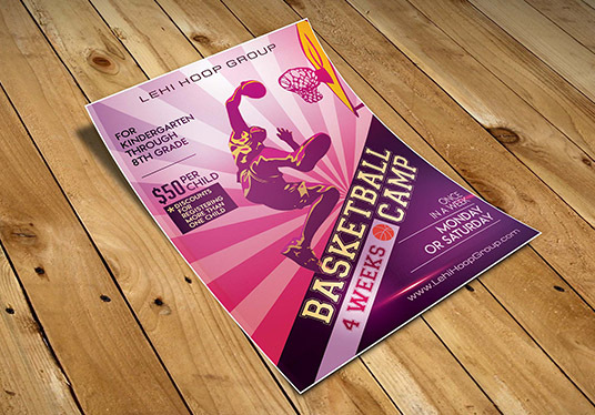 I will create an eye-catching flyer for any event