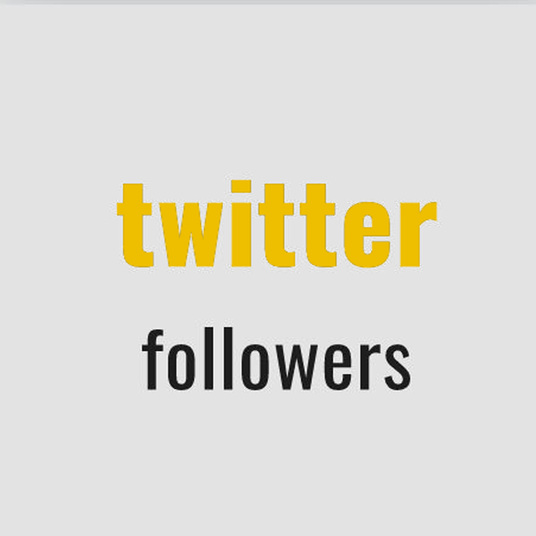 I will give you 200+ real twitter followers fast delivery