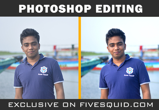 Do Photoshop Editing and Background Remove Within 24 Hours