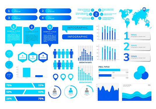I will Create Clean & Minimal  Business Infographic Design For You