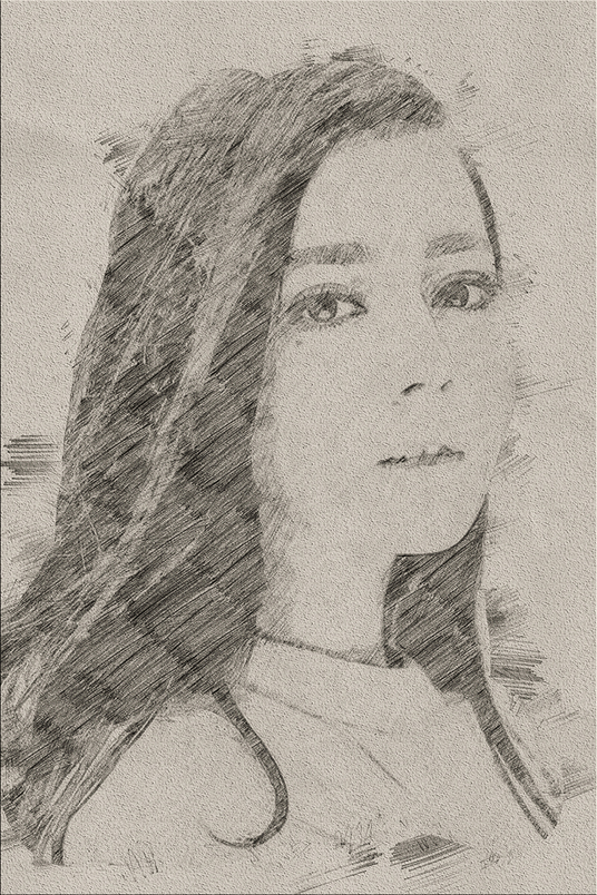 I will change your photo into pencil sketch