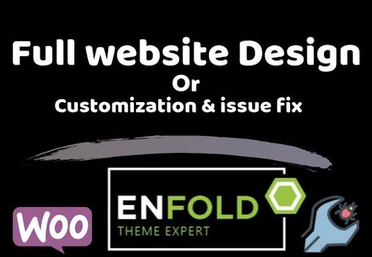 I will create a full website By  WordPress, Enfold or any themes