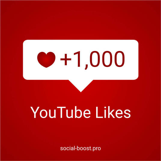 I will Add 1000 Likes To Your Youtube Video