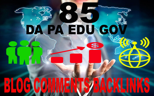 I will  do high authority 15 EDU, GOV links dofollow backlinks