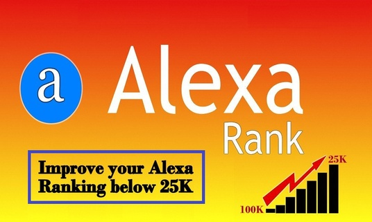 I will Increase your USA Alexa Rank below 25k & Global 200k using web traffic