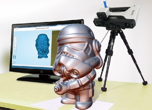 I will 3d scan and reverse engineer your object