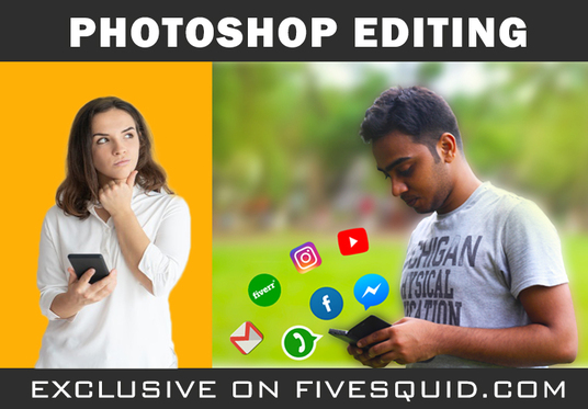 I will Do Photoshop Editing within 24 Hours