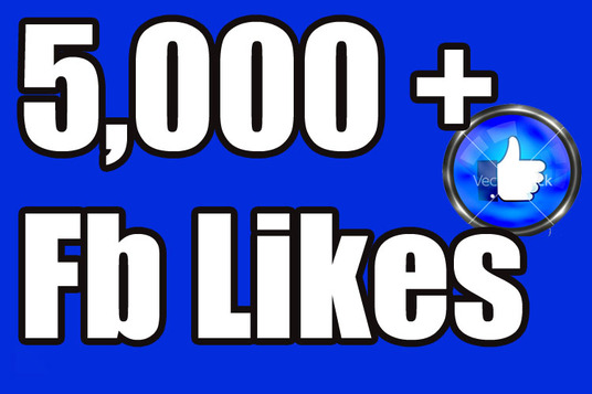 I will Give you 5,000 Fan Page Likes