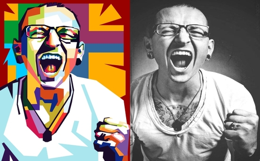 I will make an awesome wpap pop art portrait