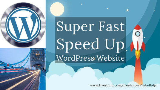 I will speedup wordpress website, improve gtmetrix, google  page speed score