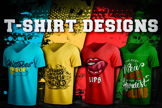 I will Design Trendy Or Custom T-shirt design