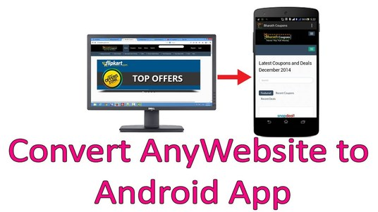 I will convert your website into cool responsive android app