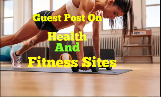 I will write article and guest post on da40 health blog