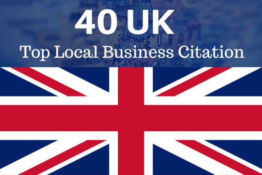I will add your business in 40 UK directories to get top in local search