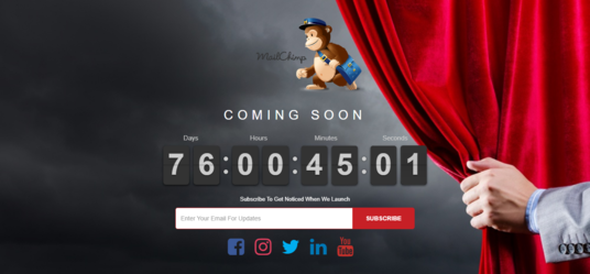 I will create coming soon page for under construction website