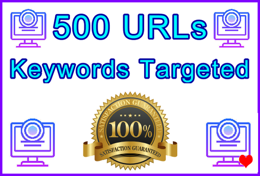 I will Send 500 Geo and Keywords Targeted URLs Created from GSA Website Contact