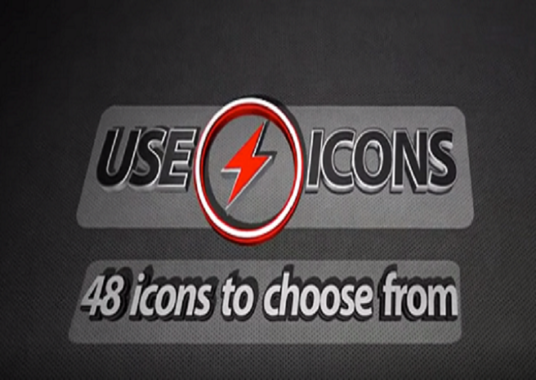 I will create this icon dropping logo animation intro