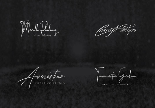I will do signature or photography logo design