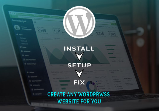 I will install WordPress, Customize WordPress theme and setup WordPress