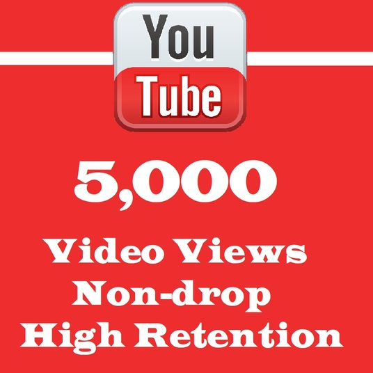 I will Give You 5000+ Non- Drop Youtube views