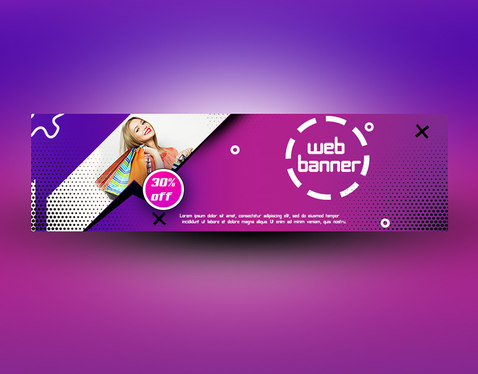 design amazing web banners
