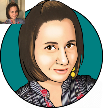 draw your photo into cartoon caricature
