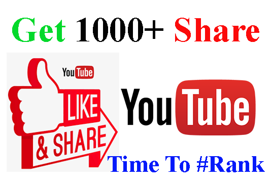I will Provide You 1000+ Organic YouTube Video Shares