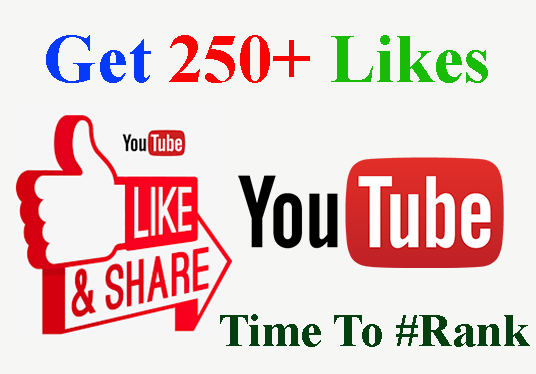I will Provide You 250+ Organic YouTube Video Likes