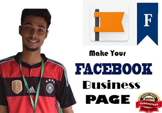 I will Facebook Business Page Creation +facebook cover + tips on social media marketing