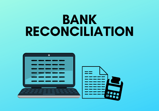 I will prepare a bank reconciliation statement, using MS Excel