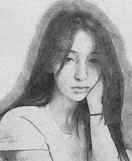I will change your photo into photoshop pencil sketch