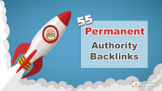 I will create 55 Permanent Authority Dofollow Backlinks