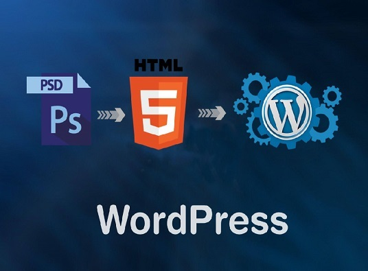 I will Convert PSD  To   WordPress Website