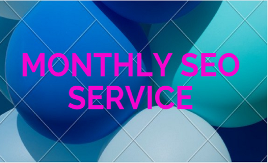I will do monthly SEO service