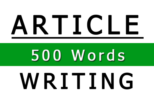 I will do SEO article writing of 500 words in 24 hours