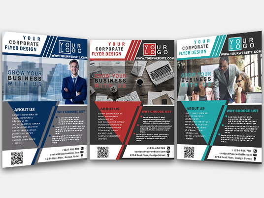 I will design corporate, real estate, insurance flyer, banner or poster