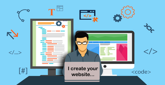 I will design a  website for you