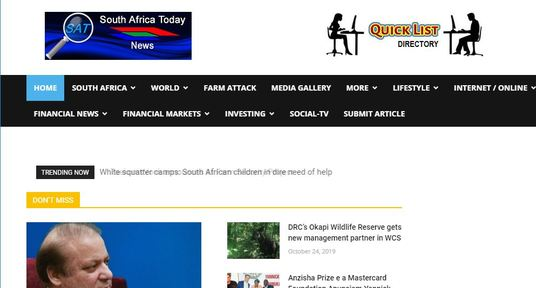 I will write and publish a guest post on southafricatoday.net news blog