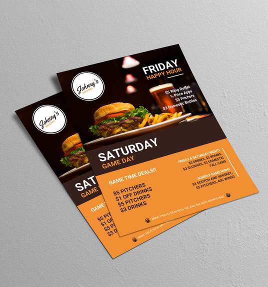 I will design Flyer, Poster