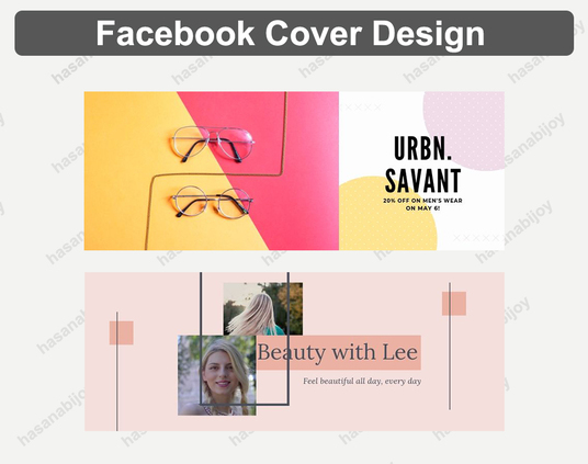 I will design your facebook cover social post banner header