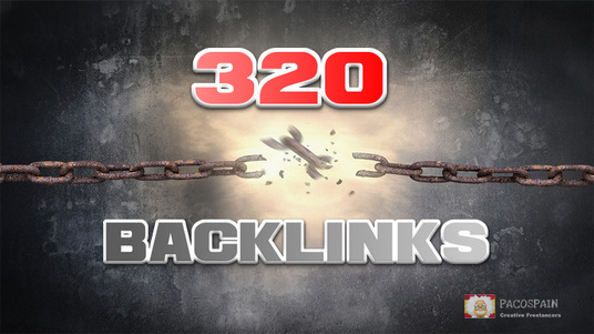I will provide 320 high quality backlinks