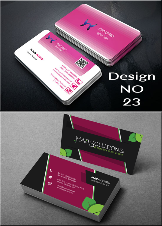 I will  Business card design