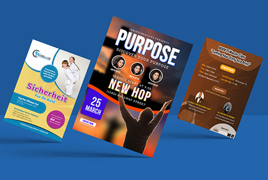 I will create awesome flyer design and brochure Design