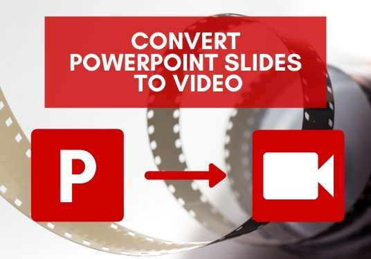 I will convert PowerPoint Presentations / Slides into a video, insert your logo, and sync you voi