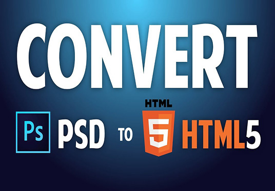I will Convert Your Psd Or Xd to HTML Responsive Bootstrap Website