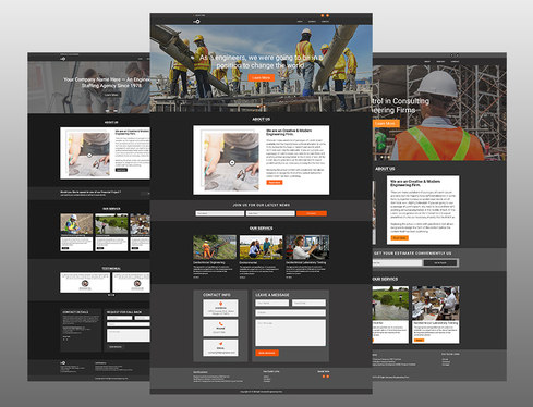 design amazing web ui and ux for your website and landing page